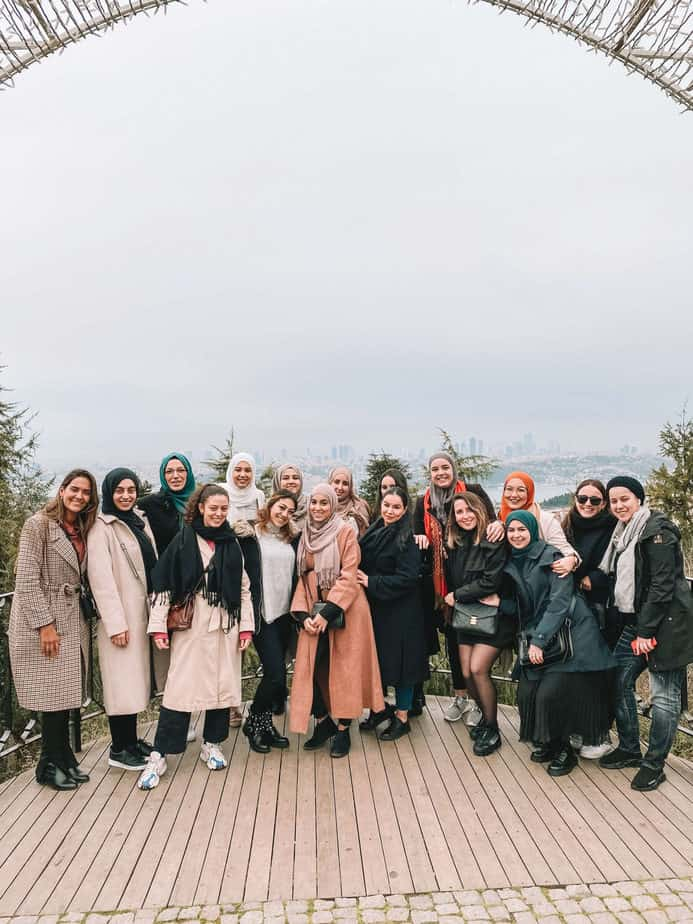 27th Experience trip #Istanbul Travelicious women #2020